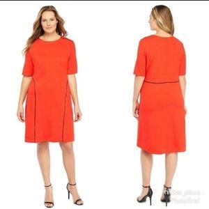 Limited Womens Plus Size High Low Hem Dress